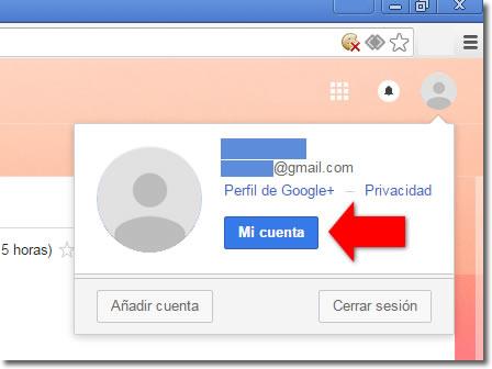 Cómo cambiar tu contraseña de acceso a Gmail