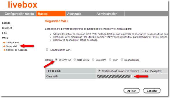 Cómo cambiar y por qué la contraseña de nuestra red Wifi