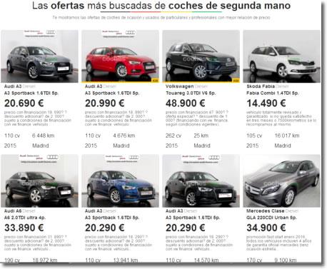 El timo del coche en el extranjero sigue muy presente en los anuncios de Internet