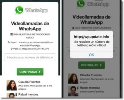 Cuidado con las videollamadas en WhatsApp, pueden esconder una estafa