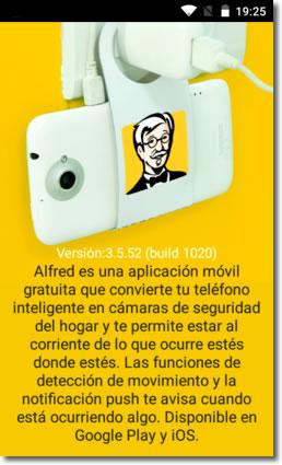 Utiliza tu viejo teléfono como cámara de videovigilancia