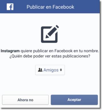 Revisa los permisos concedidos a las aplicaciones en tus perfiles sociales