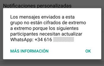 ¿Qué significa que el código de seguridad cambió en Whatsapp?
