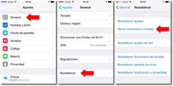 Cuándo y cómo restaurar a fábrica un dispositivo móvil Android o iPhone