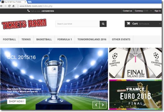 Cuidado con las entradas de reventa para eventos deportivos en Internet