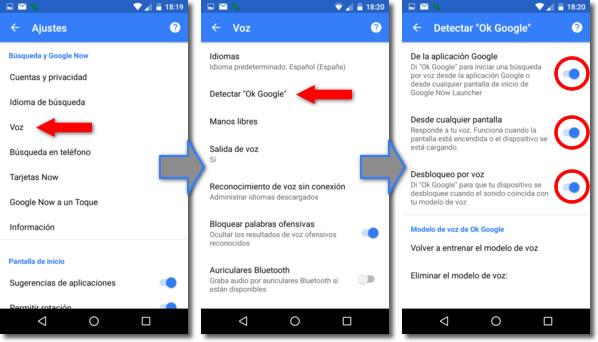 Ok Google permite enviar whatsapp con la voz y mucho más