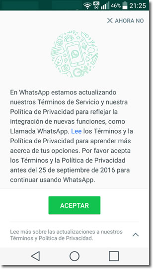 ¿Quieres compartir tu Whatsapp con Facebook?