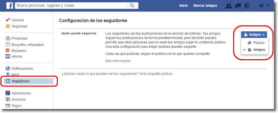 Ocultar y mostrar a los demás los botones en mi perfil de Facebook