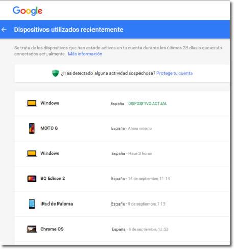 Alguien se está conectando a mi cuenta de gmail