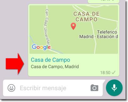 Cómo saber si es real la ubicación que me envían por Whatsapp