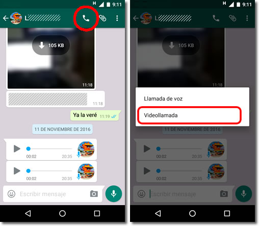 Video calls get to WhatsApp, now they do