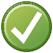 Confirmar, Aceptar, Web, Icono, Corregir, Texto, Vale
