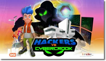 Hackers vs CyberCrook. Un juego para aprender ciberseguridad