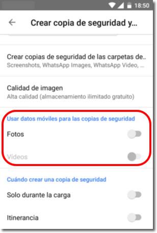 Preguntas frecuentes sobre el funcionamiento de Google Fotos
