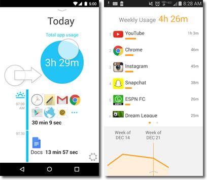 Aplicaciones que nos ayudan a superar la adicción al móvil