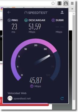 Medir la velocidad de Internet en nuestros dispositivos