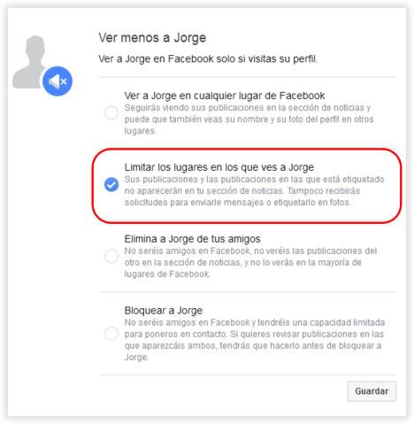 En Facebook puedes tomarte un respiro de tus amigos o de tu ex