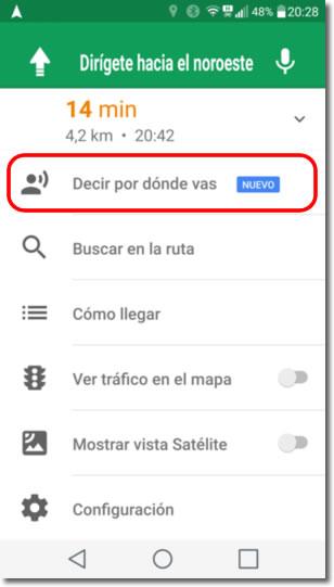 Ahora podemos compartir nuestra ubicación por Google Maps