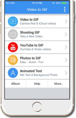Crear GIF Animados fácilmente con nuestras fotos y vídeos