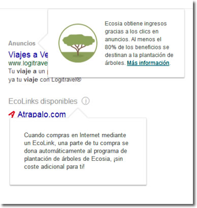 Ecosia, el buscador que se ocupa de reforestar el mundo