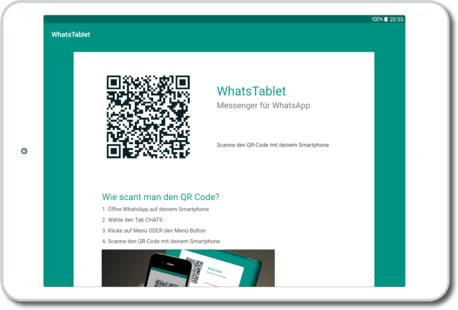 Cómo usar Whatsapp desde una tablet