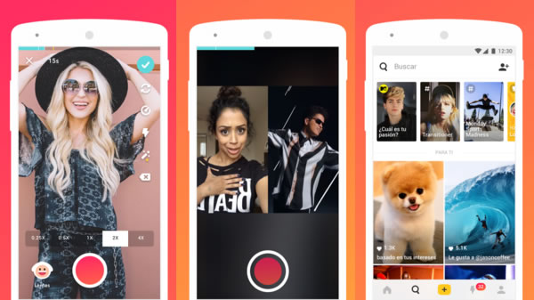 Musical.ly, red social de videos musicales extendida entre los menores