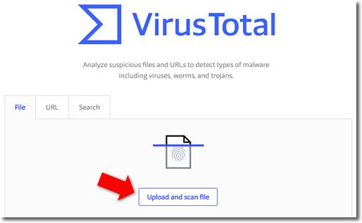 Comprueba si un archivo tiene virus incluso antes de descargarlo