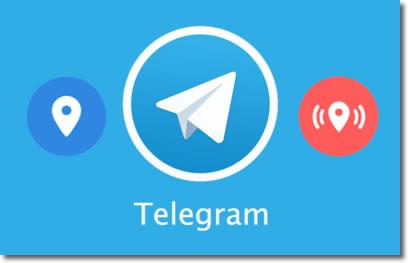 Comparte con Telegram tu ubicación de forma continua