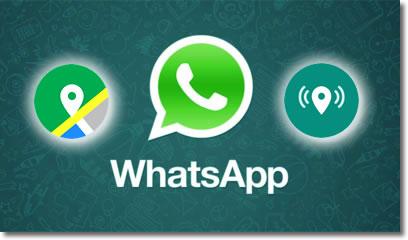 Whatsapp ya permite compartir la ubicación a tiempo real