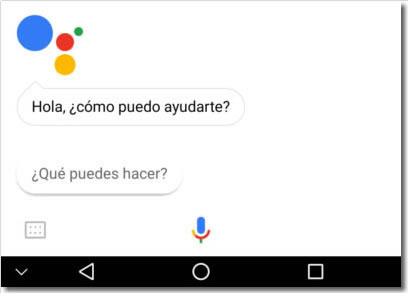 El asistente de Google ya habla español