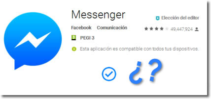 Por qué no le llega mi mensaje de Messenger si aparece activo