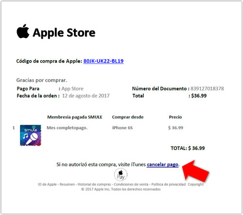 Gracias por adquirir esta aplicación de Apple