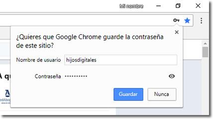 Comprueba las contraseñas de Internet que has guardado en tu navegador