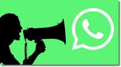 Usar la lista de difusión en Whatsapp para saber si nos tienen en su agenda