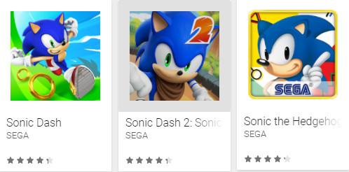 Tres juegos oficiales de Sonic filtran información de los usuarios