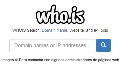 Pasos para eliminar información en los buscadores