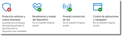 Revisa Windows Defender