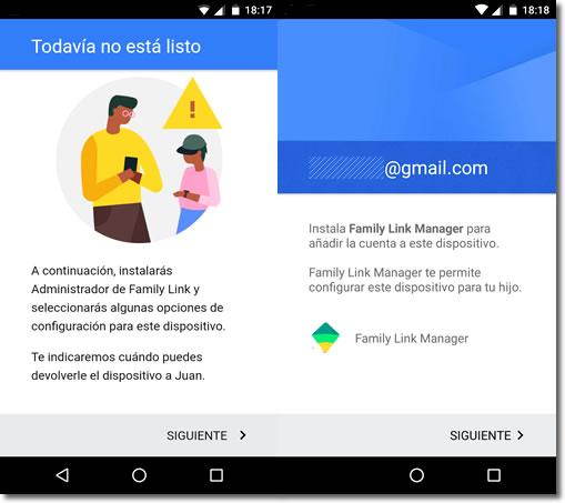 Google lanza Family Link, su propio control parental para dispositivos móviles