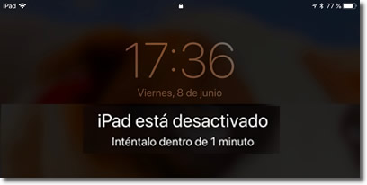 Borra tu iPhone o iPad al décimo intento de desbloqueo fallido