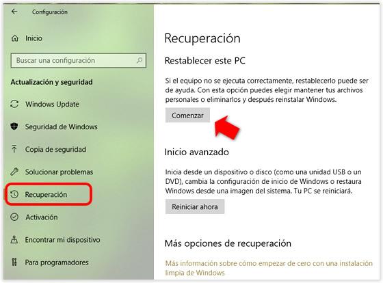 Cómo y cuándo crear una copia de seguridad del sistema en Windows 10