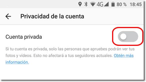 Las opciones de privacidad de Instagram que debes revisar