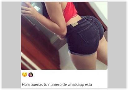 Intento de estafa por Whatsapp, un mensaje del 803406127
