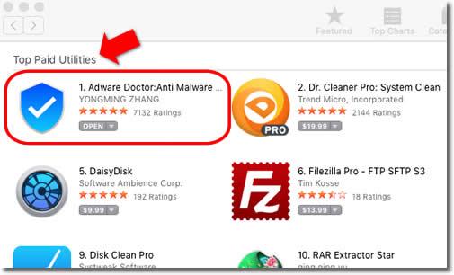 Desinstala ya Adware Doctor, es una aplicación espía en los