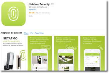 Netatmo Welcome,  una cámara inteligente con reconocimiento facial