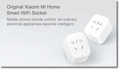 Enchufe Wifi inteligente de Xiaomi o smart socket plug
