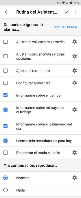 Con la alarma de Android podemos activar rutinas del Asistente de Google