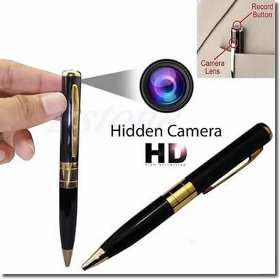 Cámaras espía disimuladas en todo tipo de objetos