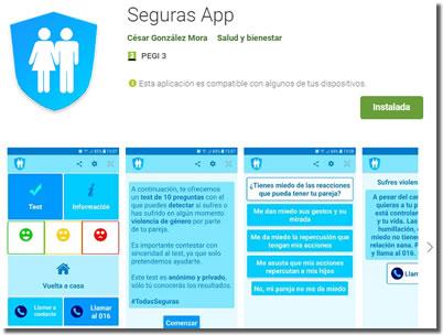 Aplicaciones diseñadas para prevenir el acoso y el maltrato a las mujeres