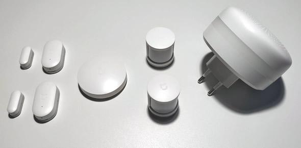 Kit de seguridad de Xiaomi fabricado para Europa