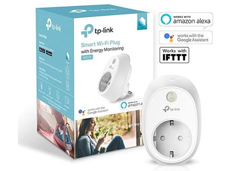 Enchufe inteligente con medición de consumo de TP-Link